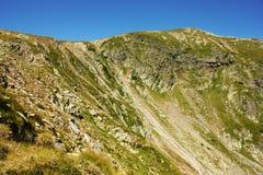 Detalle de la montaña Fotografía de archivo