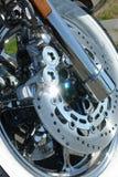 Detalle de la motocicleta imagen de archivo libre de regalías