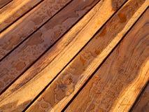 Detalle de la naturaleza del modelo del fondo de la textura de madera de la teca hermosa Fotos de archivo libres de regalías
