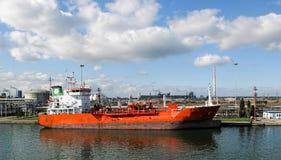 detalle de la nave química Foto de archivo libre de regalías