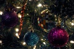 Detalle de la Navidad Fotografía de archivo