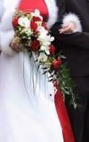 Detalle de la novia Imagen de archivo libre de regalías