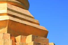 Detalle de la pagoda antigua Fotografía de archivo