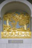 Detalle de la pagoda de la paz de Londres Imágenes de archivo libres de regalías