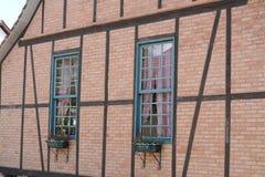 Detalle de la pared de la casa Fotografía de archivo libre de regalías