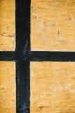 Detalle de la pared de la casa Imágenes de archivo libres de regalías