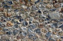 Detalle de la pared de piedra Fotos de archivo