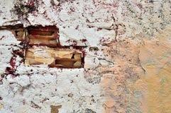 Detalle de la pared pintada Fotografía de archivo libre de regalías