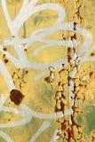 Detalle de la pintada Foto de archivo