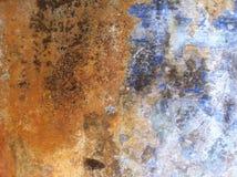 Detalle de la pintura de la peladura Imagenes de archivo
