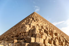 Detalle de la pirámide de Giza Fotos de archivo