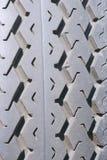 Detalle de la pisada del neumático Imagenes de archivo