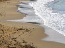 Detalle de la playa Imágenes de archivo libres de regalías