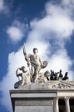 Detalle de la plaza Venezia Imágenes de archivo libres de regalías