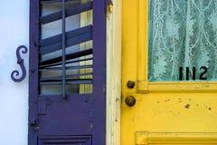 Detalle de la puerta Fotografía de archivo