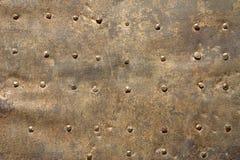 Detalle de la puerta del metal Fotografía de archivo libre de regalías