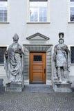 Detalle de la puerta en la abadía de St Gallen en Suiza Imagen de archivo libre de regalías