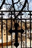Detalle de la puerta en Maaloula Foto de archivo libre de regalías