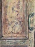 Detalle de la puerta vieja Fotos de archivo