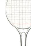 Detalle de la raqueta de tenis Imagen de archivo libre de regalías