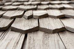 Detalle de la ripia de madera Imagen de archivo libre de regalías