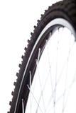 Detalle de la rueda de bicicleta Fotografía de archivo