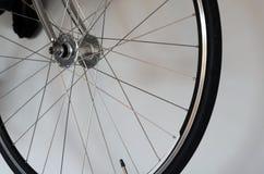 Detalle de la rueda de bicicleta Foto de archivo libre de regalías