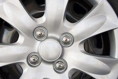 Detalle de la rueda de coche imágenes de archivo libres de regalías