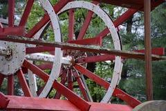 Detalle de la rueda de paleta Imagenes de archivo