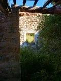 Detalle de la ruina Foto de archivo libre de regalías