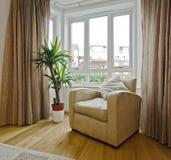 Detalle de la sala de estar Fotografía de archivo