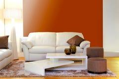 Detalle de la sala de estar foto de archivo