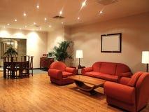 Detalle de la sala de estar Fotos de archivo