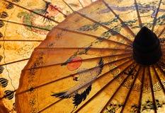 Detalle de la sombrilla Foto de archivo