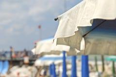 Detalle de la sombrilla Foto de archivo libre de regalías