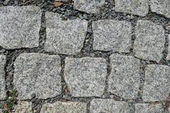 Detalle de la textura de la calle del adoquín Fotos de archivo