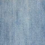 Detalle de la textura de la mezclilla del dril de algodón fotos de archivo