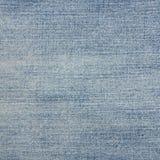 Detalle de la textura de la mezclilla del dril de algodón fotografía de archivo libre de regalías