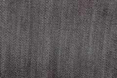 Detalle de la textura de la mezclilla del dril de algodón y del fondo inconsútil Foto de archivo libre de regalías