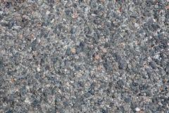 Detalle de la textura de un pavimento de camino Imagen de archivo libre de regalías