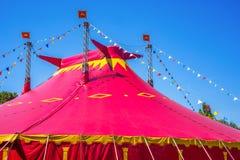Detalle de la tienda de circo Imagen de archivo libre de regalías