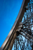 Detalle de la torre Eiffel Imagen de archivo