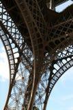 Detalle de la torre Eiffel fotos de archivo