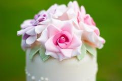 Detalle de la torta Fotografía de archivo