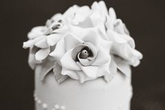 Detalle de la torta Imagen de archivo