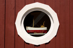 Detalle de la ventana, Suecia Imagen de archivo libre de regalías
