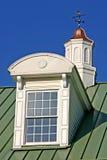 Detalle de la ventana y de la cúpula imagen de archivo libre de regalías