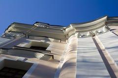 Detalle de la vieja arquitectura barroca Imágenes de archivo libres de regalías