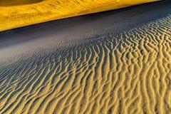 Detalle de las dunas de arena Imágenes de archivo libres de regalías