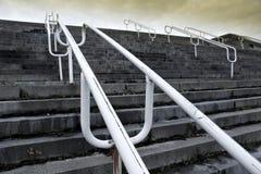 Detalle de las escaleras. Imágenes de archivo libres de regalías